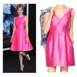 kate spade Dresses - Kate Spade Fuchsia Fit and Flare Cocktail Dress